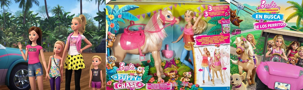 Barbie Y Sus Hermanas En Busca De Los Perritos Barbiepedia